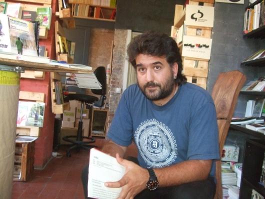 Jordi del Espai Contrabando - Foto © Josep Mª Navarro Cantero.